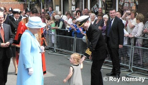 Queen Visits Romsey 2007