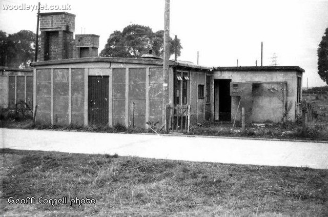 Concrete dwellings at Ganger Camp Woodley Romsey