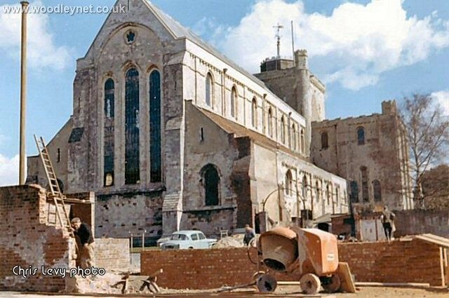 Romsey Abbey, Early 1960's
