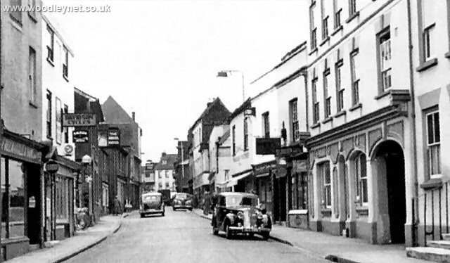 Bell St Romsey early 1960's