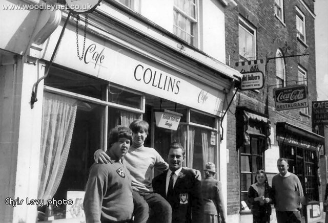 Bill Collins and The Four Deeze cafe's in the Hundred Romsey 1962