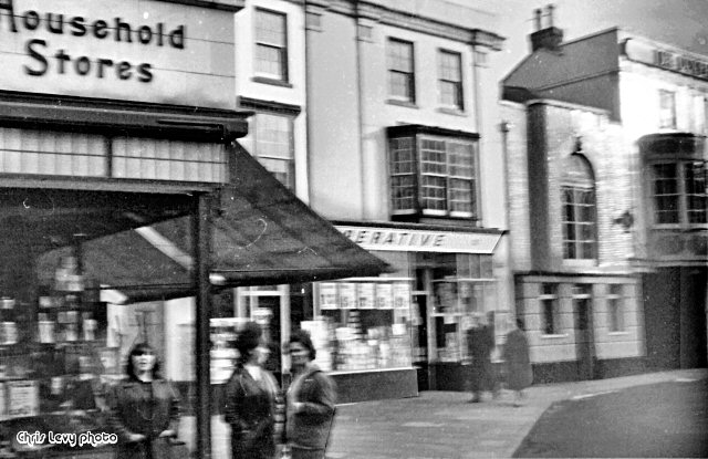 When the Co-op was in the Cornmarket 1959