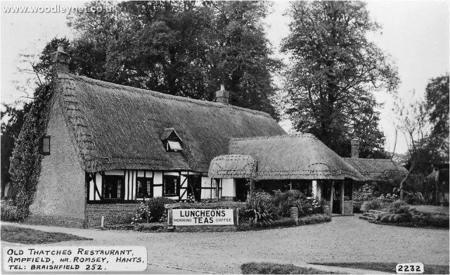 Old Thatched Restaurant (Now Keats) Ampfield