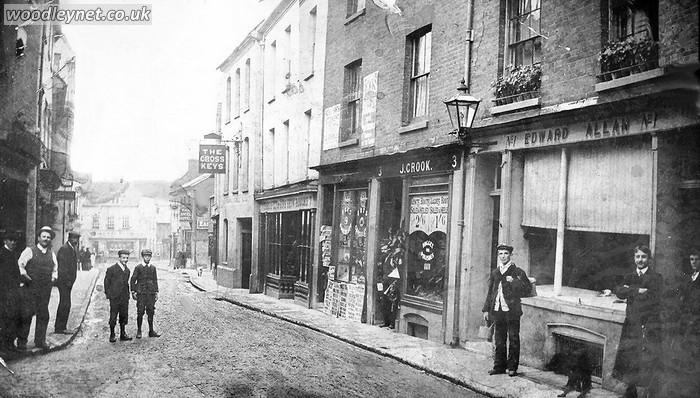 Bell St Romsey about 1900