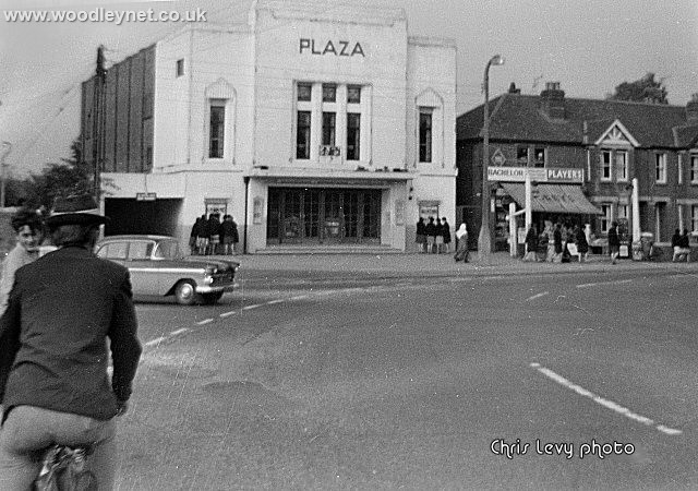 Plaza Junction early 60's before roundabout
