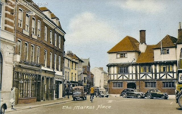 Romsey Market Place Early 1950's