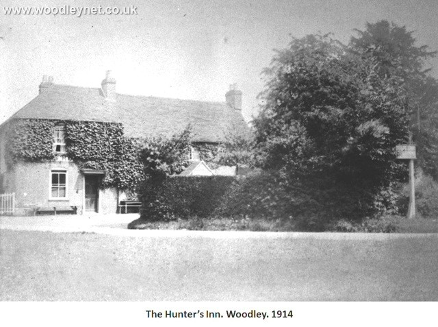 Hunters Inn, Woodley 1914