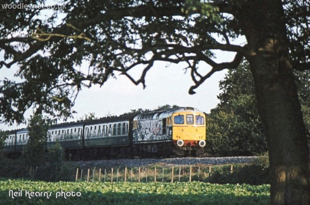Crampmoor train 1980