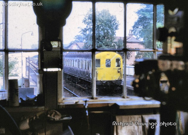 From East Dean Signal Box