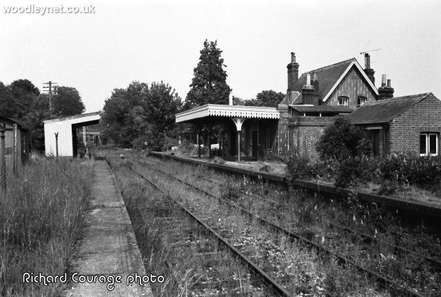 Horesbridge Station after closure