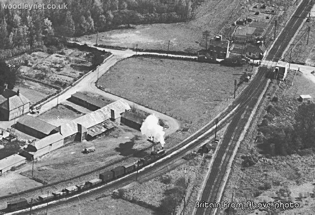 Kimbridge Junction aerial view