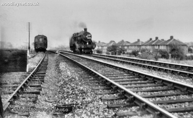 Romsey train in 1964