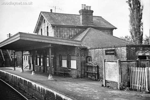 Stockbridge Station 1964