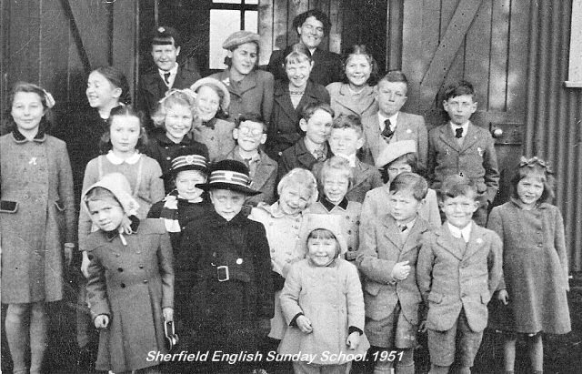 Sherfield English Sunday School 1952